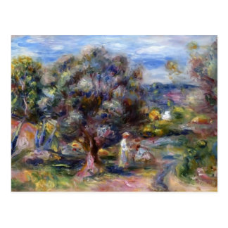 Pierre-Auguste Renoir- Aloe, Picking at Cagnes Post Card