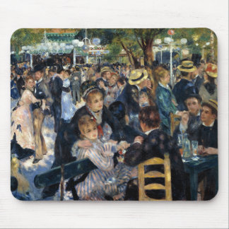 Pierre-Auguste Renoir and Bal du moulin de la Gale Mouse Pad