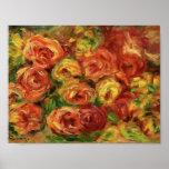 Pierre-Auguste Renoir- Armful of Roses Posters