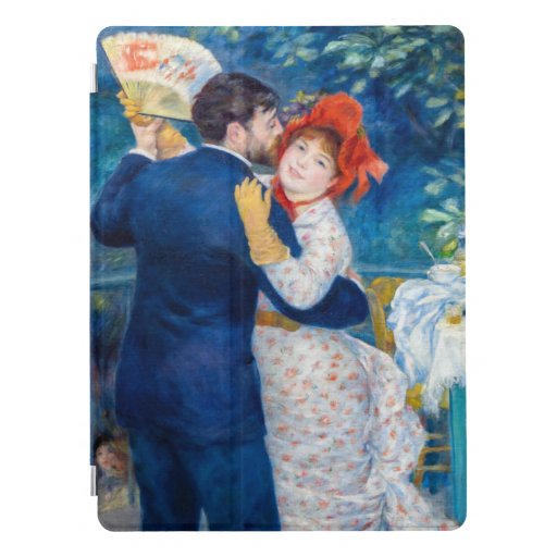 Pierre Auguste Renoir artwork - Country Dance iPad Pro Cover