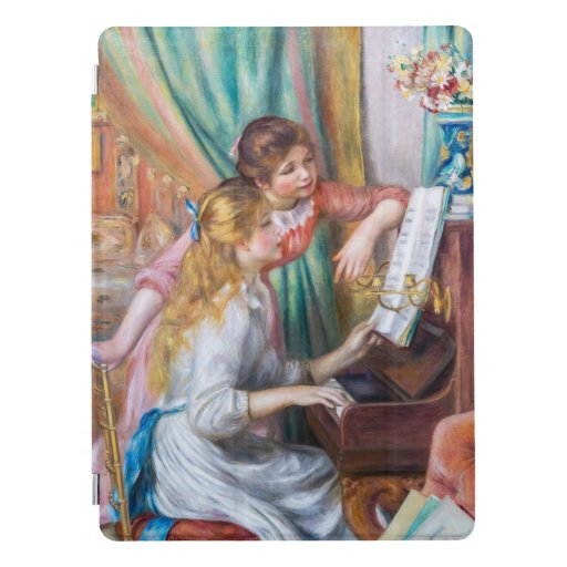 Pierre Auguste Renoir artwork - Girls at the Piano iPad Pro Cover