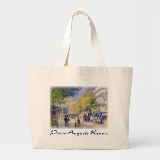 Pierre Auguste Renoir - Boulivards of Paris Bag