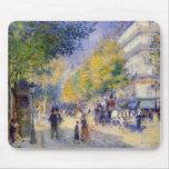 Pierre Auguste Renoir - Boulivards of Paris Mousepad