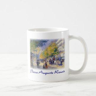 Pierre Auguste Renoir - Boulivards of Paris Mugs