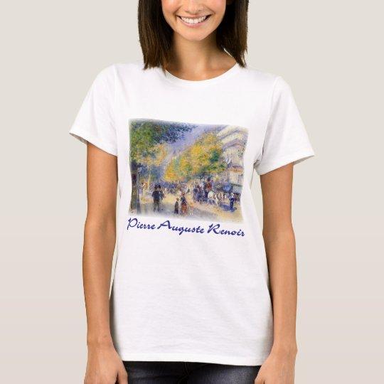 Pierre Auguste Renoir - Boulivards of Paris T-Shirt