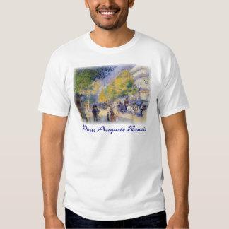 Pierre Auguste Renoir - Boulivards of Paris T Shirt