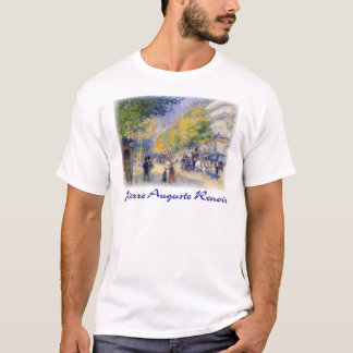Pierre Auguste Renoir - Boulivards of Paris T-Shirt