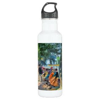 Pierre-Auguste Renoir by Pierre Renoir 24oz Water Bottle