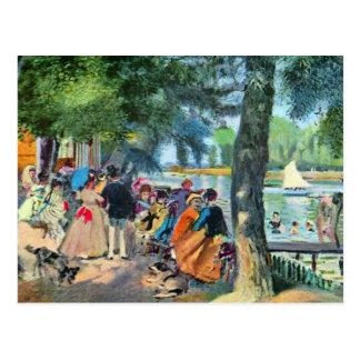 Pierre-Auguste Renoir by Pierre Renoir Post Card