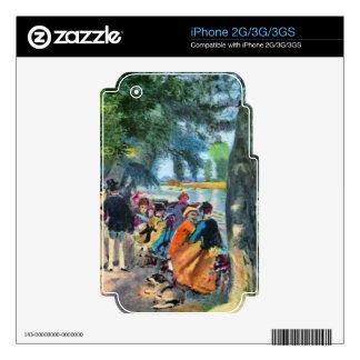 Pierre-Auguste Renoir by Pierre Renoir Decal For iPhone 2G