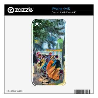 Pierre-Auguste Renoir by Pierre Renoir iPhone 4 Decals