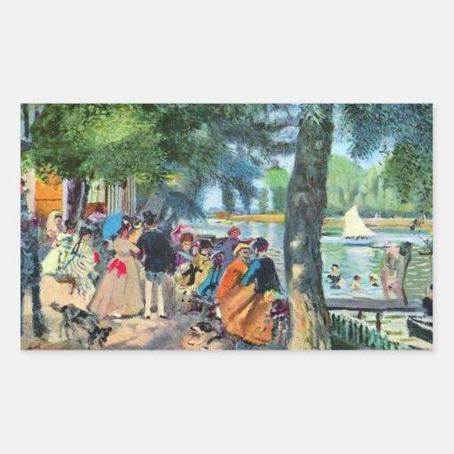 Pierre-Auguste Renoir by Pierre Renoir Sticker