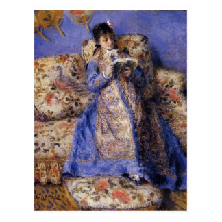 Pierre-Auguste Renoir- Camille Monet Reading Postcard