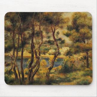Pierre-Auguste Renoir- Cape Saint Jean Mousepads