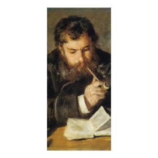 Pierre-Auguste Renoir- Claude Monet (The Reader) Personalized Rack Card