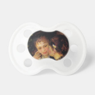 Pierre-Auguste Renoir- Confidences Baby Pacifiers
