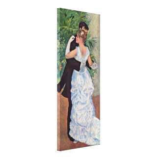 Pierre-Auguste Renoir - Dance in the City Stretched Canvas Prints