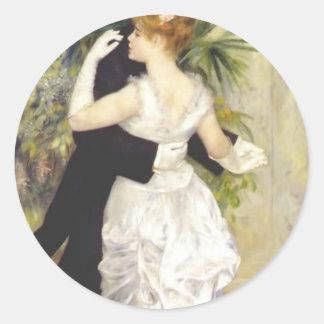 Pierre-Auguste Renoir- Dance in the City Sticker