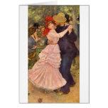 Pierre-Auguste Renoir - Danse à Bougival (1883) Greeting Cards