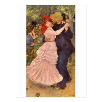 Pierre-Auguste Renoir - Danse à Bougival (1883) Postcard