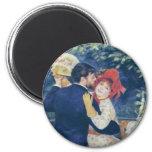 Pierre-Auguste Renoir - Danse à la campagne (1883) Fridge Magnets