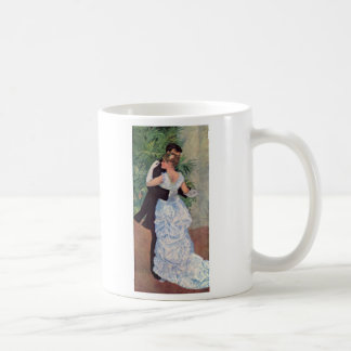Pierre-Auguste Renoir - Danse à la ville (1883) Classic White Coffee Mug