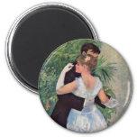 Pierre-Auguste Renoir - Danse à la ville (1883) Refrigerator Magnets