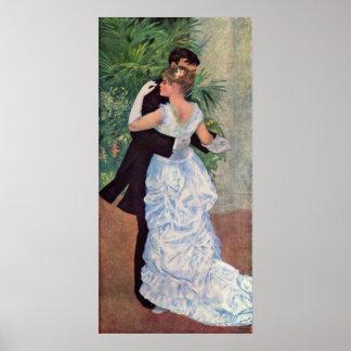 Pierre-Auguste Renoir - Danse à la ville (1883) Poster