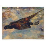 Pierre-Auguste Renoir- Dead Pheasant in the Snow Poster