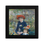 Pierre-Auguste Renoir - dos hermanas Cajas De Recuerdo