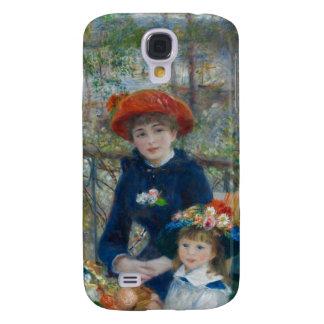 Pierre-Auguste Renoir - dos hermanas Funda Para Galaxy S4