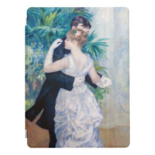Pierre Auguste Renoir fine art - City Dance iPad Pro Cover