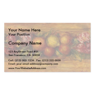 Pierre-Auguste Renoir-Garland of Fruit and Flowers Double-Sided Standard Business Cards (Pack Of 100)