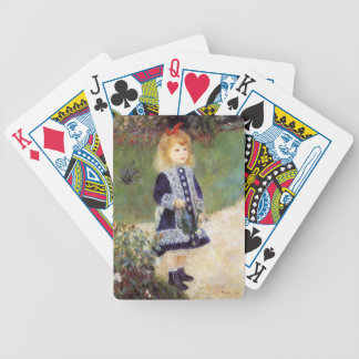 Pierre-Auguste Renoir- Girl with a Watering Can Bicycle Playing Cards