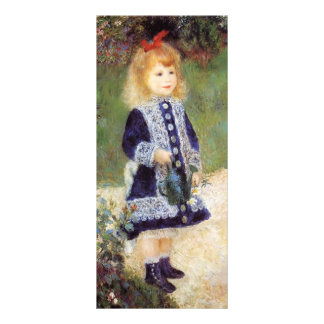 Pierre-Auguste Renoir- Girl with a Watering Can Full Color Rack Card