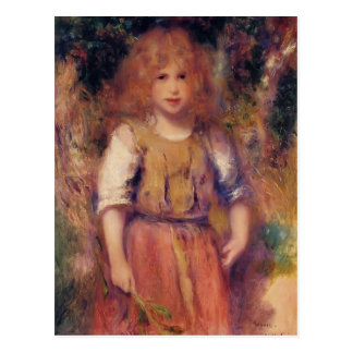 Pierre-Auguste Renoir- Gypsy Girl Postcard