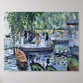 Pierre-Auguste Renoir - La Grenouillere Poster