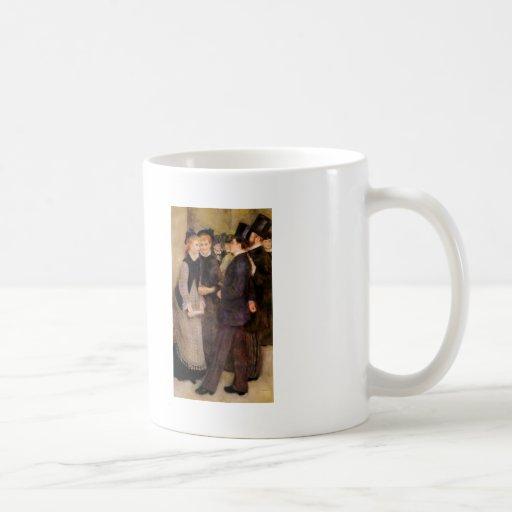 Pierre-Auguste Renoir- Leaving the Conservatoire Mugs