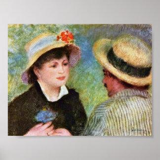 Pierre-Auguste Renoir - Les Canotiers Poster