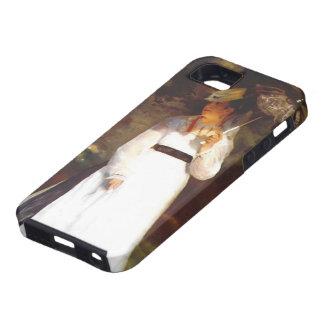 Pierre-Auguste Renoir- Lise with Umbrella iPhone 5 Cases