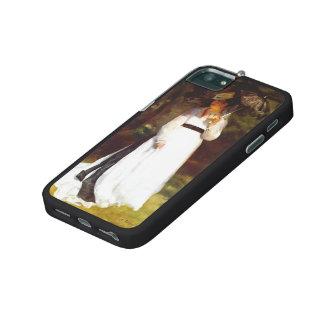 Pierre-Auguste Renoir- Lise with Umbrella iPhone 5/5S Cases