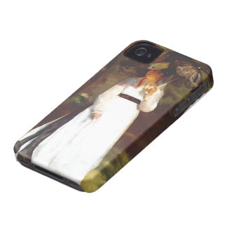 Pierre-Auguste Renoir- Lise with Umbrella iPhone 4 Cases