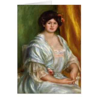 Pierre-Auguste Renoir- Madame Thurneyssen Greeting Cards
