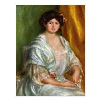 Pierre-Auguste Renoir- Madame Thurneyssen Postcards