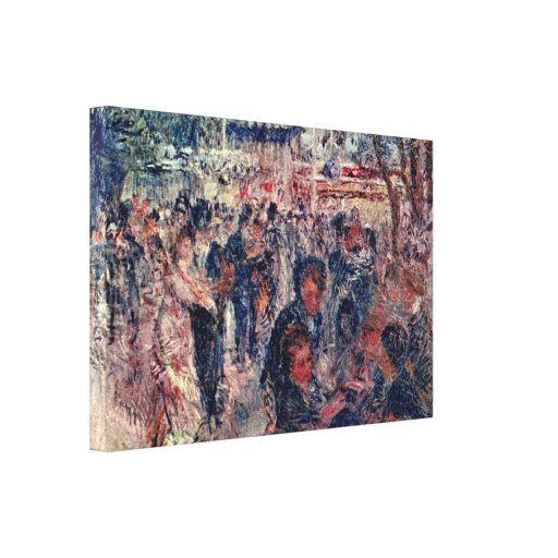 Pierre-Auguste Renoir - Moulin de la Galette Gallery Wrapped Canvas