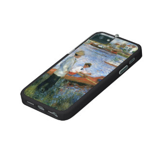 Pierre-Auguste Renoir- Oarsmen at Chatou iPhone 5/5S Covers
