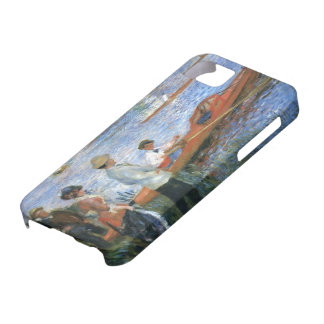 Pierre-Auguste Renoir- Oarsmen at Chatou iPhone 5 Cover