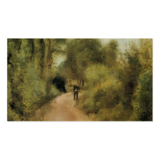 Pierre-Auguste Renoir- On the Path Double-Sided Standard Business Cards (Pack Of 100)