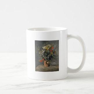 Pierre Auguste Renoir Painting, Flowers In A Vase Coffee Mug