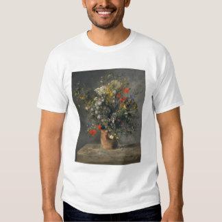 Pierre Auguste Renoir Painting, Flowers In A Vase T Shirt